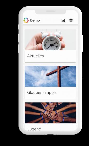 Bild der Demo-App